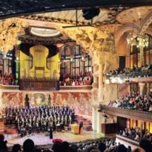 Escenario Palau de la Musica